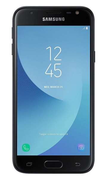 "Samsung J330FN GALAXY J3 2017 schwarz 16GB LTE Android Smartphone 5"" Display"