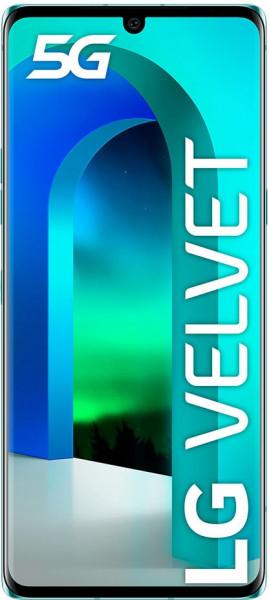 LG Velvet 5G DualSim Aurora grün 128GB