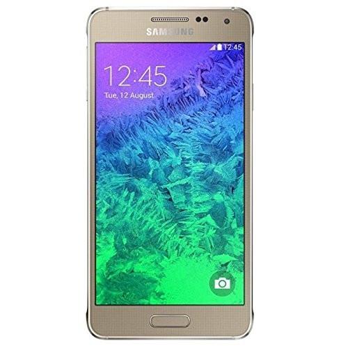 "Samsung Galaxy Alpha 32GB gold LTE Android Smartphone 4,7"" Display ohne Simlock"