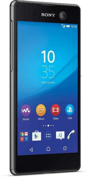 Sony Xperia M5 schwarz 16GB LTE  Android Smartphone ohne Simlock 5 Zoll 21,5 MPX