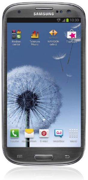"Samsung Galaxy S3 i9305 grau LTE Android Smartphone 4,8"" Display ohne Simlock"
