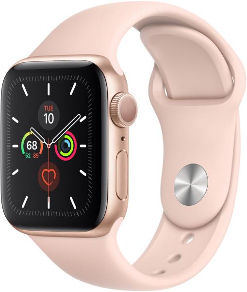 Apple Watch 5 gold Alu 44mm sandrosa GPS Neuwertig