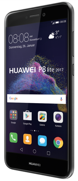 "Huawei P8 Lite 2017 schwarz 16GB LTE Android Smartphone ohne Simlock 5,2"" 12MPX"