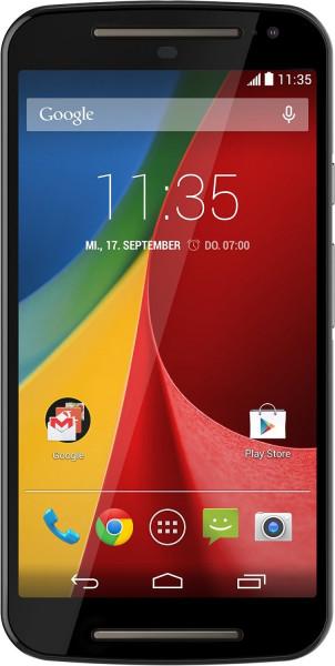 "Motorola Moto G 2. Generation schwarz Android Smartphone 5"" Display ohne Simlock"