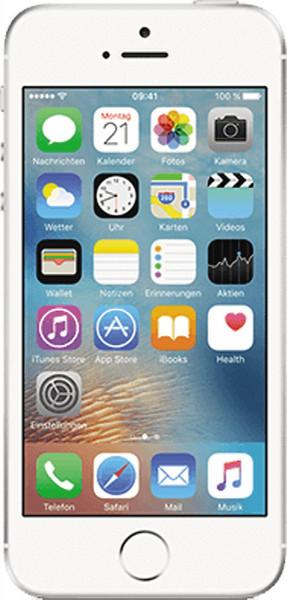 Apple iPhone SE 32GB Silber 4 Zoll Smartphone ohne Simlock iOS LTE 12MPX Kamera