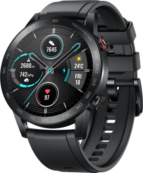 Honor MagicWatch 2 - 46 mm black Android iOS Smartwatch Fitness Sleeping Tracker