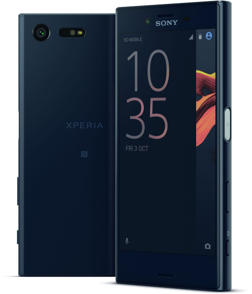 """Sony Xperia X Compact schwarz LTE Android Smartphone ohne Simlock 4,6"""" Display"""