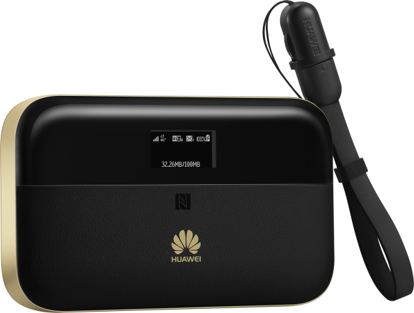 Huawei E5885LS-93a: mobile WIFI 300 Mbps DL Cat.6 schwarz