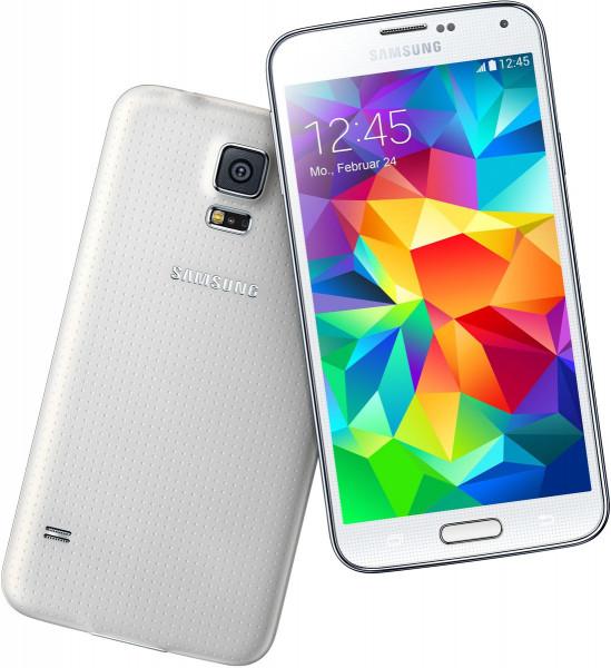 "Samsung Galaxy S5 weiß 16GB LTE Android Smartphone ohne Simlock 5,1"" Display"