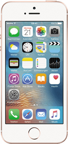 "Apple iPhone SE 128GB Rosé Gold LTE iOS Smartphone ohne Simlock 4"" Display 12MPX"