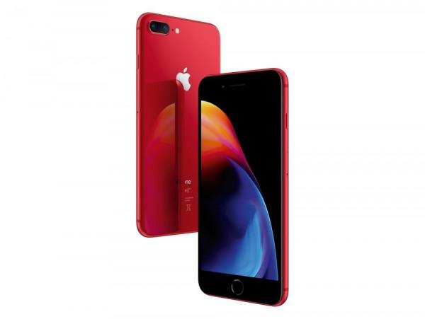 "Apple iPhone 8 Plus Rot 64GB LTE iOS Smartphone o. Simlock 12MPX 5,5"" Display"