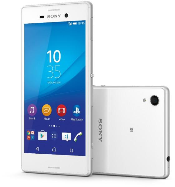 Sony Xperia M4 Aqua weiß 8GB LTE Android Smartphone ohne Simlock wassergeschützt