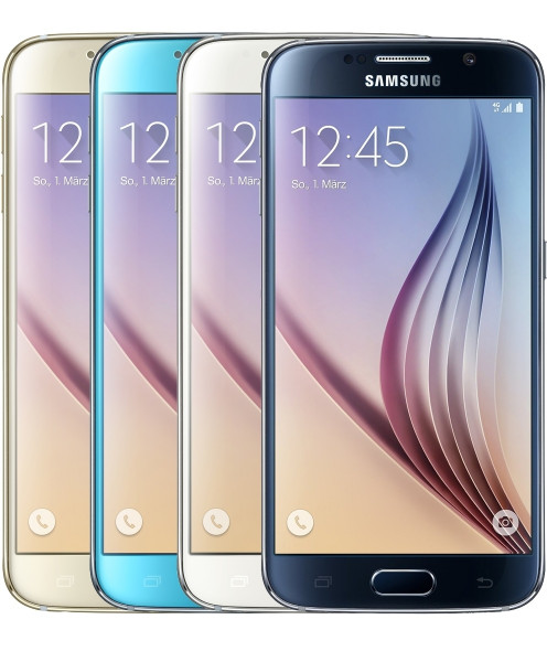 "Samsung Galaxy S6 32GB LTE Android Smartphone ohne Simlock 5,1"" Display"