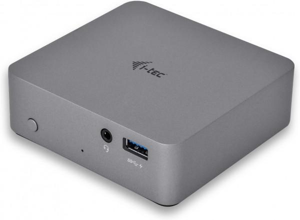I-TEC USB-C DOCKING STATION grau 4K 1x HDMI 4x USB 3.0 1x LAN