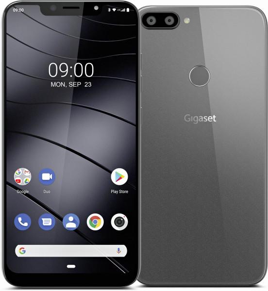"Gigaset GS195 DualSim Titanium Grau 32GB LTE Android Smartphone 6,18"" 13 MPX"