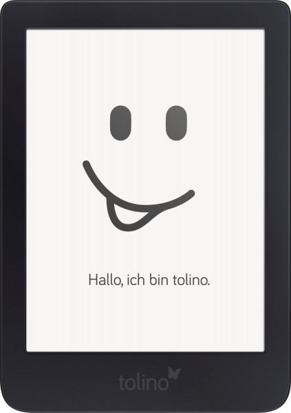 Tolino Shine 3 eBook-Reader Touchscreen schwarz 8GB