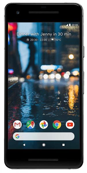 "Google Pixel 2 64GB schwarz LTE Google Android Smartphone 5"" Display 12,2MPX"