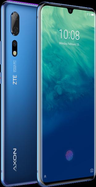 "ZTE Axon 10 Pro Dualsim blau 128GB LTE Android Smartphone 6,47"" Display 48 MPX"