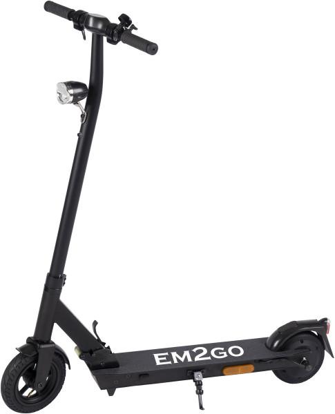 EM2GO E-Scooter FW103ST mit Straßenzulassung 4.4Ah Akku