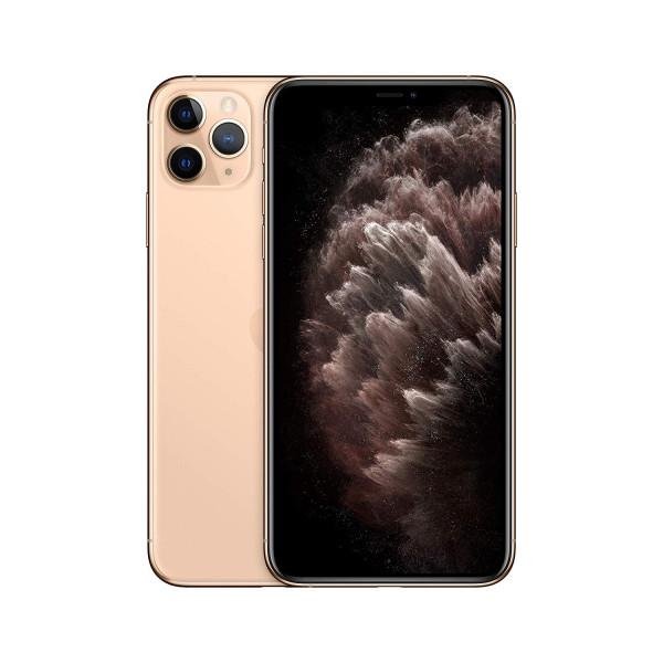 "Apple iPhone 11 Pro Max gold 64GB LTE iOS Smartphone 6,5"" OLED 12 MPX eSim"