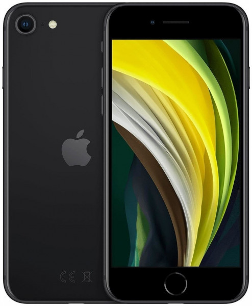 Apple iPhone SE (2020) schwarz 128GB