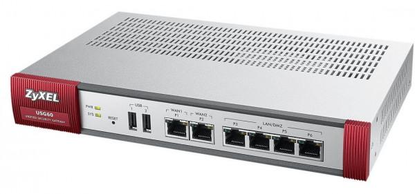 ZyXEL - ZyWALL USG-60 UTM BDL Firewall Appliance Gebraucht - Gut