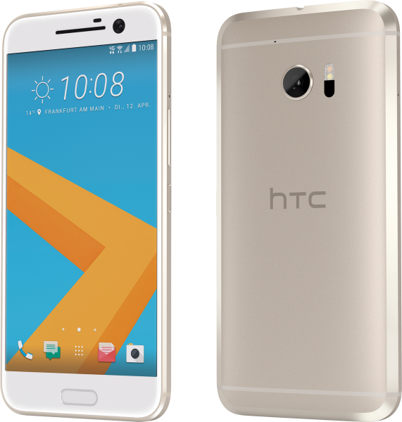 "HTC 10 gold 32GB LTE Android Smartphone ohne Simlock 5,2"" Display 12 Ultrapixel"
