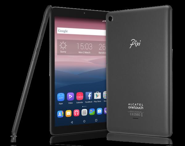 "ALCATEL Pixi 3 3G schwarz 8GB Android Tablet PC 10,1"" Display Wifi Wlan 2MPX"