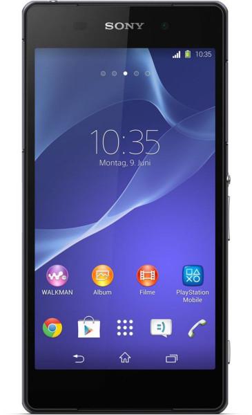 "Sony Xperia Z2 schwarz D6503 16GB LTE Android 5,2"" Smartphone 20MP ohne Simlock"