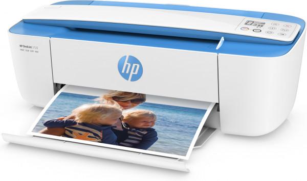 HP DeskJet 3720 All-in-One 3in1 Multifunktionsdrucker blau
