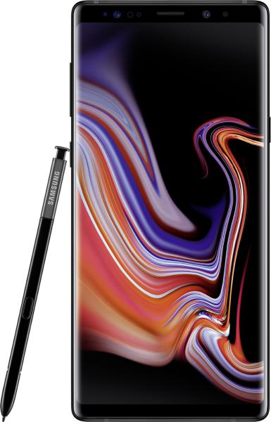 "Samsung Galaxy Note 9 DualSim schwarz 128GB LTE Android Smartphone 6,4"" Display"