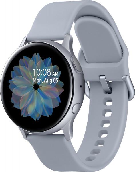 Samsung SM-R830NZ Galaxy Watch Active 2 Alu 40mm cloud silber Smartwatch Fitness