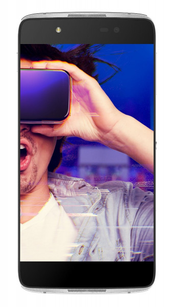 ALCATEL IDOL 4+ grau 16GB LTE Android Dual Sim Smartphone ohne Simlock VR Brille