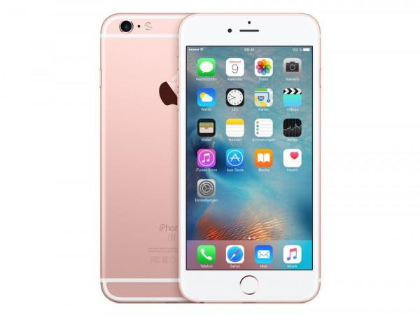 "Apple iPhone 6s Plus 64GB Roségold LTE IOS Smartphone ohne Simlock 5,5"" Display"