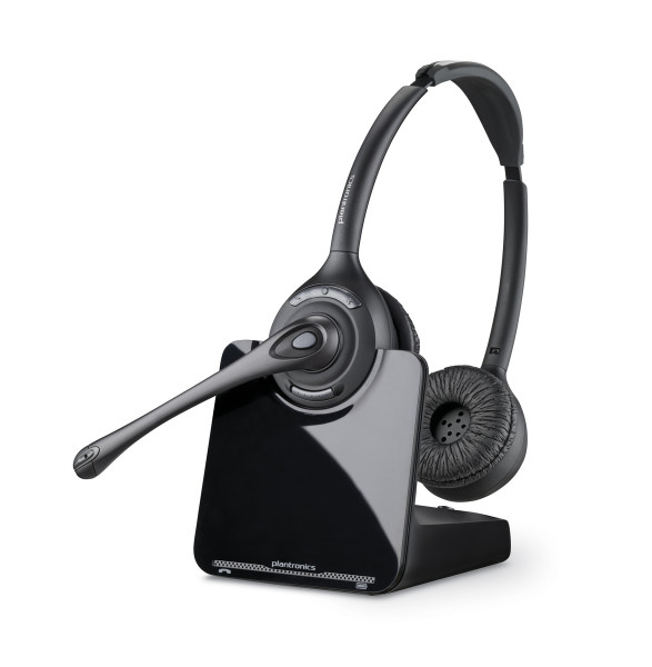 Plantronics CS520A Stereo DECT Business Headset Binaural Noice-Cancelling