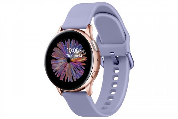 Samsung R830NZ Galaxy Watch Active2 Alu 40mm rosegold/violet