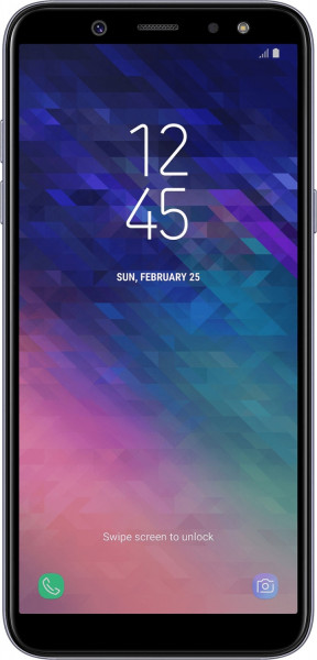 "Samsung A600FN Galaxy A6 2018 lavender 32GB LTE Android Smartphone 5,6"" 16 MP"