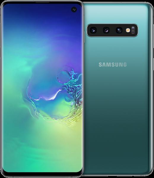 "Samsung G973F Galaxy S10 DualSim grün 128GB LTE Android Smartphone 6,1"" 16 MPX"