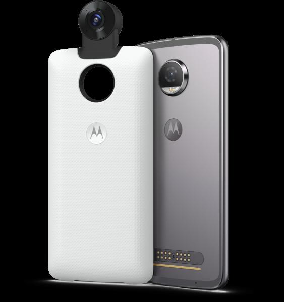 MOTOROLA MOD 360° Kamera weiß
