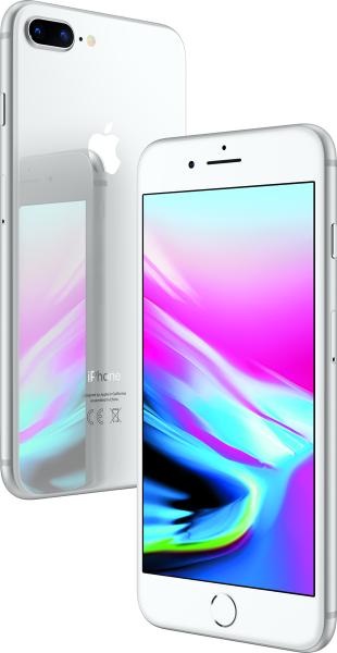 "Apple iPhone 8 Plus 64GB Silber LTE iOS Smartphone ohne Simlock 5,5"" Display"