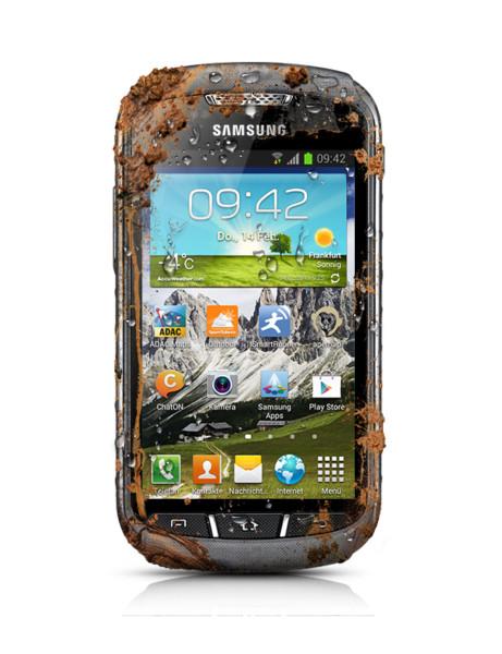 Samsung Galaxy Xcover 2 grau Staub und Wasserdicht Android Outdoor