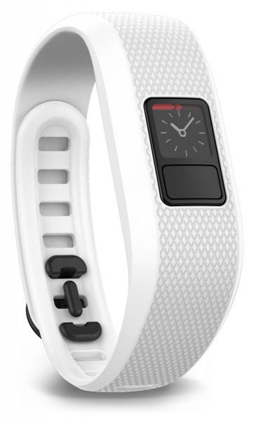 Garmin Fitnessarmband vivofit 3 Weiß automatische Aktivitätserkennung
