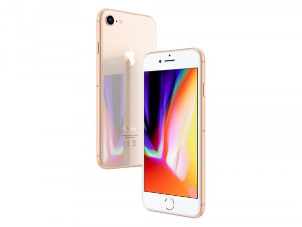 "Apple iPhone 8 64GB Gold LTE iOS Smartphone ohne Simlock 4,7"" Display 12MPX"
