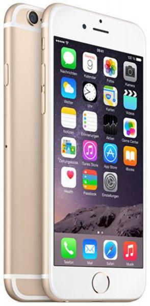 "Apple iPhone 6 Gold 64GB iOS LTE Smartphone ohne Simlock 4,7"" Display 8 MPX"