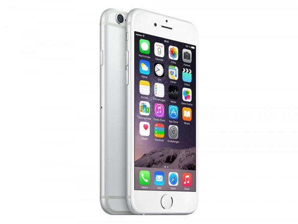 Apple iPhone 6 64 GB silber LTE IOS Smartphone ohne Simlock 4,7 Zoll 8 Megapixel