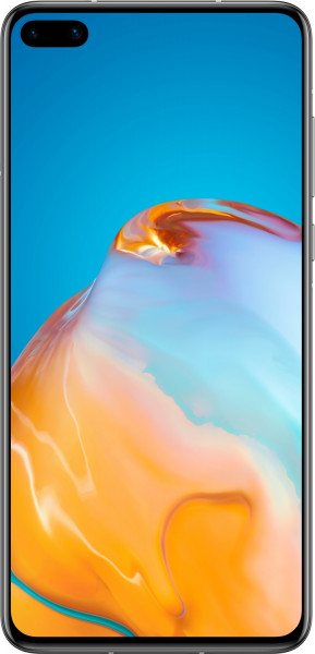 """Huawei P40 DualSim silber 128GB 5G LTE Android Smartphone 6,1"""" OLED 50 MPX 4K"""