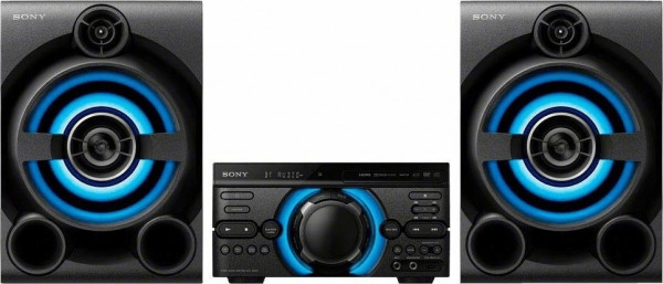 Sony MHC-M60D High Power Audio System schwarz USB Bluetooth Karaoke