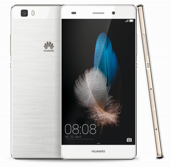 "Huawei P8 lite weiß LTE Dual SIM Android Smartphone 5"" ohne Simlock 13 Megapixel"