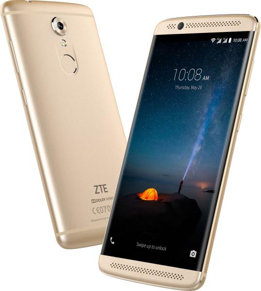 "ZTE Axon 7 mini gold LTE WLAN Bluetooth 5,2"" 16MPX 32GB Smartphone ohne Simlock"