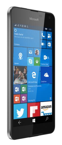 "Microsoft Lumia 650 schwarz 16GB LTE 5"" Display Windows 10 Smartphone 8MP Kamera"